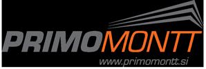 Primomontt d.o.o. logo podjetja v nogi